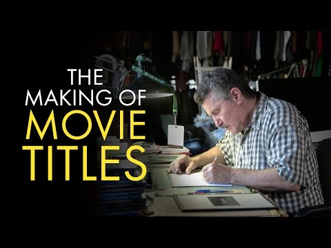 Title Design: The Making of Movie Titles (видео)