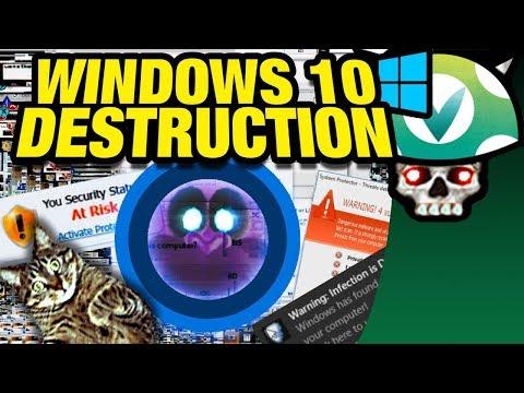 [Vinesauce] Joel - Windows 10 Destruction
