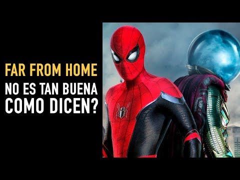 Reseña Spider-Man Far From Home