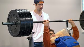Video When Your Little Brother Lifts Way More Than You... MP3, 3GP, MP4, WEBM, AVI, FLV Januari 2019
