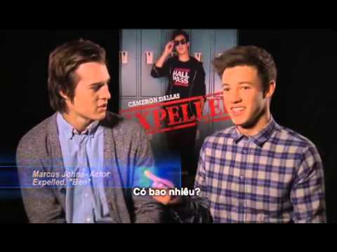 FIRST LOOK FEATURES: Marcus Johns & Cameron Dallas in 'EXPELLED' (2014)