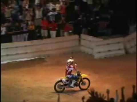 Motorbike Jumps, Flips and Crashes feat Travis Pastrana