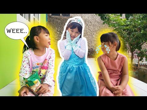 Drama Chika Ketemu Princess Elsa Frozen 💖 Teko Ajaib