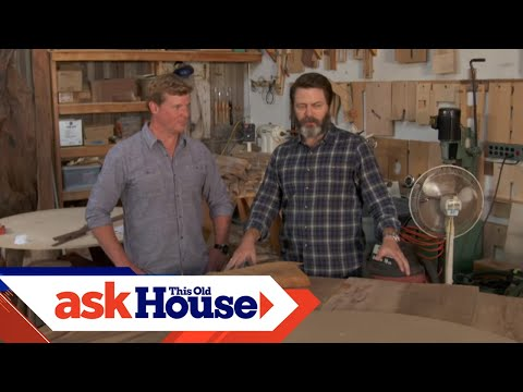 Touring Nick Offerman  s Wood Shop