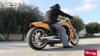 7. Competition Series Slip-Ons for 09-2012 V-Rod Muscle models