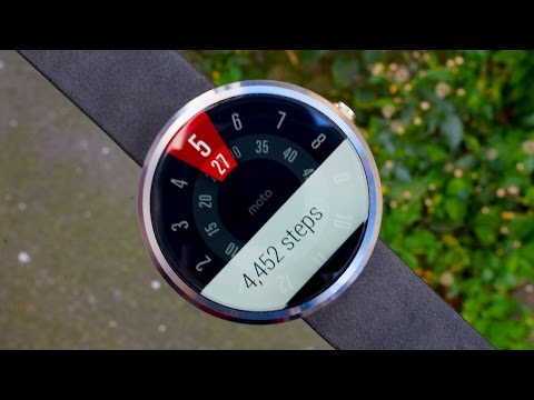 video review - The world's most anticipated Android Wear smartwatch is here, and we've spent a week getting to know it. Join us as we explore the Motorola Moto 360 in our video review! Planets watchface...