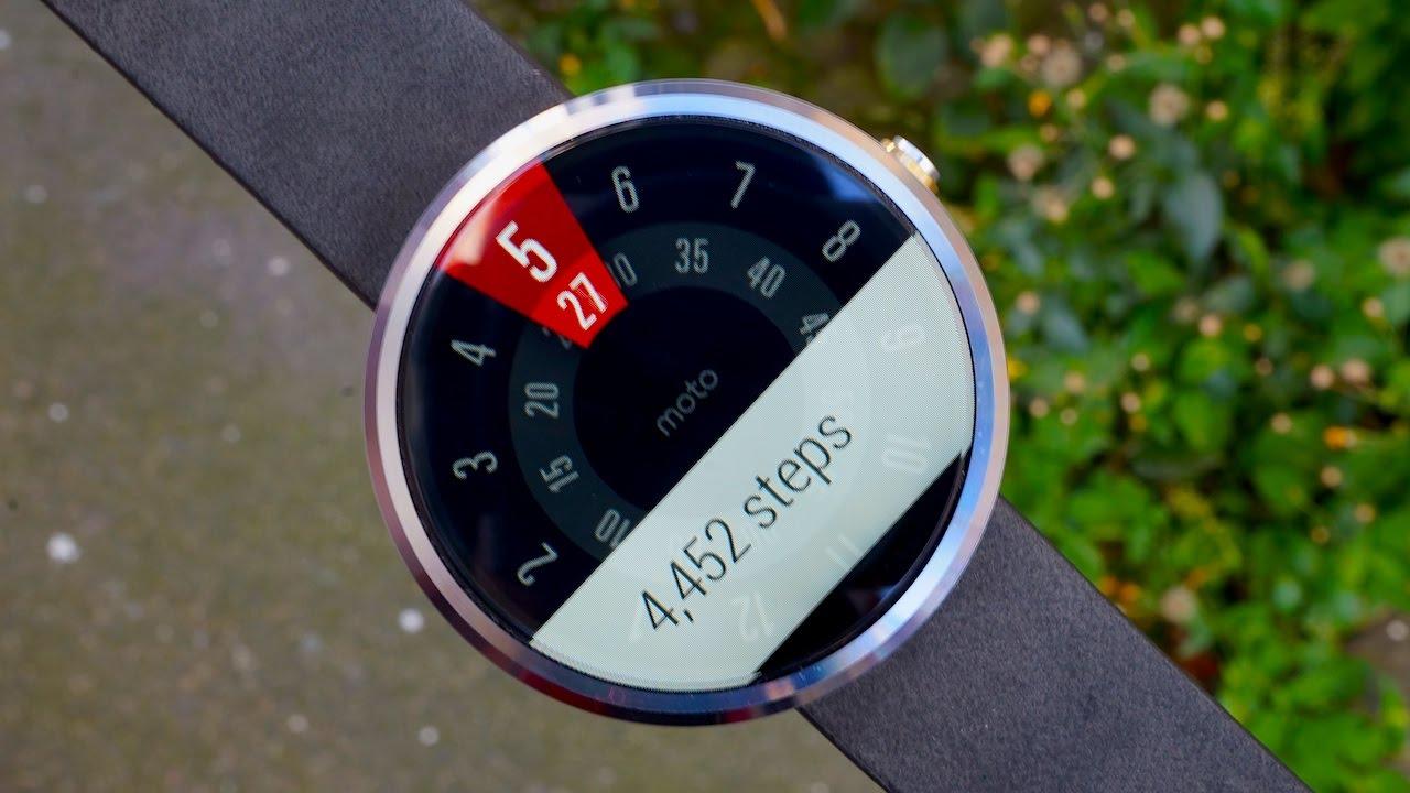 Descargar Moto 360 Review: A Stainless Steel Circular Smartwatch para Celular  #Android