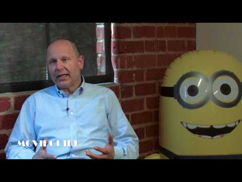 Chris Meledandri - Producer and CEO of Illumination Entertainment, Chris Meledandri speaks of the first time he saw Gru's minions come to life.