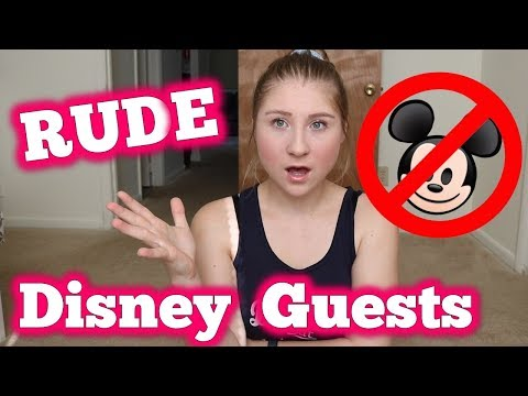 MEAN GUESTS at WALT DISNEY WORLD DCP CAST MEMBER STORY TIME