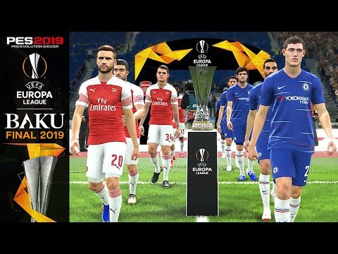 PES 2019 Chelsea Vs Arsenal UEFA Europa League Final