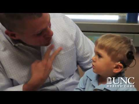 Deaf Toddler Hears Dad for First Time