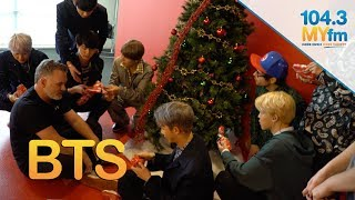 Video BTS Open Christmas Gifts From Valentine In The Morning MP3, 3GP, MP4, WEBM, AVI, FLV Agustus 2019