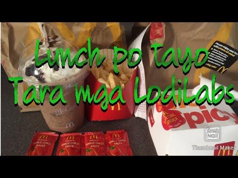 #frenchfriesspicyburgermcdo lunchtime 08/72020 Salamat kay alagako 🙏😘💖