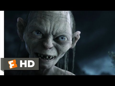 Gollum - LOTR: The Return of the King Movie Clip - watch all clips http://j.mp/y50cIO Buy Movie: http://j.mp/rsrbrO click to subscribe http://j.mp/sNDUs5 Gollum (Andy...