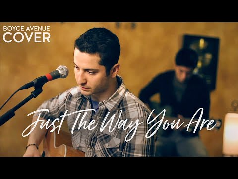 Cover Just The Way You Are - Boyce Avenue