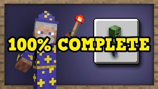 100% COMPLETING MINECRAFT XBOX ONE (Live)