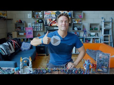 Marvel HeroClix Avengers Black Panther and the Illuminati Unboxing Part 5
