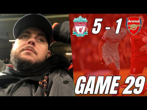 Liverpool 5 Vs 1 Arsenal - Kroenke Get Your Cheque Book Out - Matchday Vlog