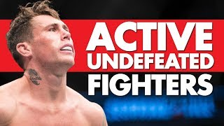 Video Top 10 Active Undefeated MMA Fighters MP3, 3GP, MP4, WEBM, AVI, FLV Oktober 2018