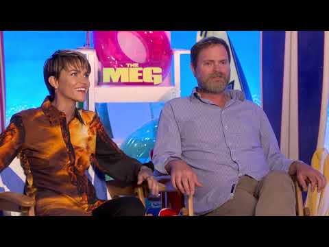 Exclusive The Meg Interview with Ruby Rose and Rainn Wilson!