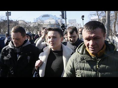 Umsturzversuch? Ukrainische Nationalheldin Sawtschenko  ...