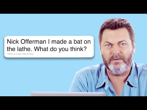 Nick Offerman Goes Undercover on the Internet
