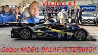 Video Geber 4 Mobil Balap Di Sepang!!   VLOG #1 MP3, 3GP, MP4, WEBM, AVI, FLV Oktober 2017