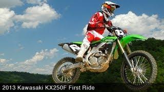 9. MotoUSA First Ride:  2013 Kawasaki KX250F