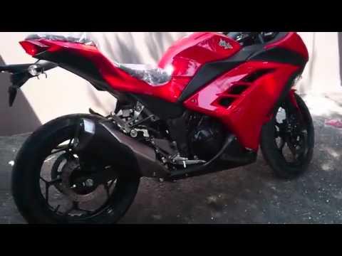 2013 kawasaki ninja 250 red