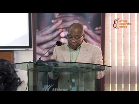 Prof Omotade Akin Aina Speech