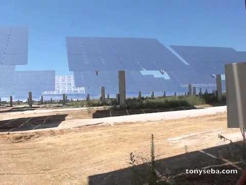 Planta Solar que Funciona las 24 Horas del Día