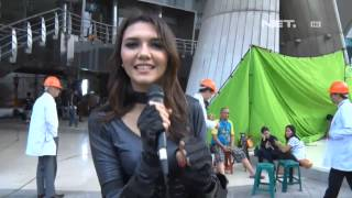 Entertainment News - Alexa Key di lokasi syuting Garuda Super Hero