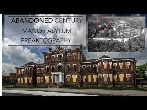 FOUND BLOOD | Exploring Abandoned Century Manor Insane Asylum with Carlo Paolozza & DDOGGVlogs