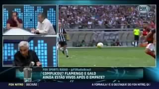 Comentários sobre o Flamengo, Fox Sport Radio 31/10/16