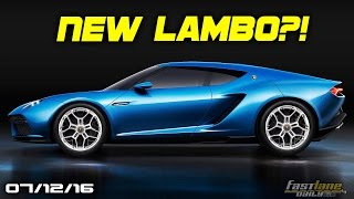 New Lamborghini Rumors, Autonomous McLaren, Aston Martin AM-RB 001 - Fast Lane Daily by Fast Lane Daily