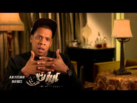 jay z - Jay-Z and Leonardo DiCaprio talk about why The Great Gatsby has a hip-hop soundtrack and how it fits into a film that is supposed to take place in the 1920s.