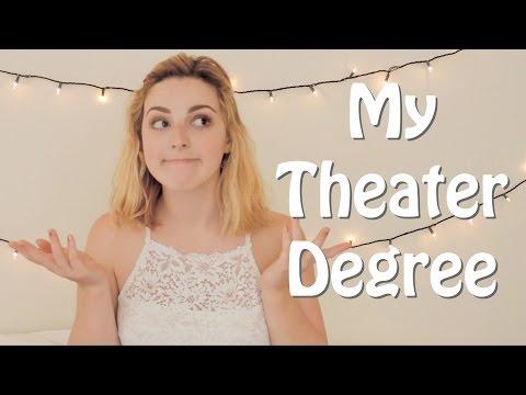 My Theater Degree: An Original Song || Rita Castagna