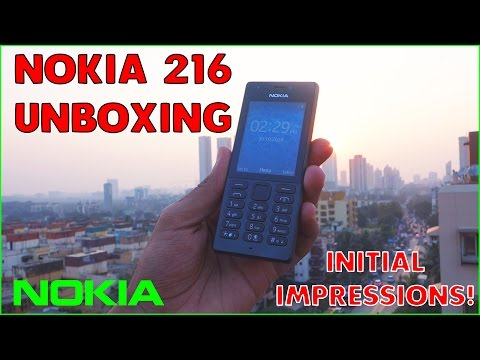 Nokia 216 Dual Sim Phone with Front Flash - Probably the Last Phone Feature Phone by Nokia!