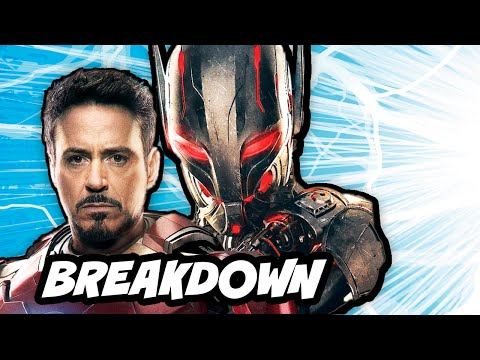 age - Avengers 2 Age of Ultron Comic Con Trailer Breakdown. First look at Vision, Ultron origins, Captain America Broken Shield and Guardians of the Galaxy 2 ▻ http://bit.ly/AwesomeSubscribe Comic...