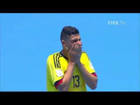 Match 38: Colombia V Paraguay - FIFA Futsal World Cup 2016