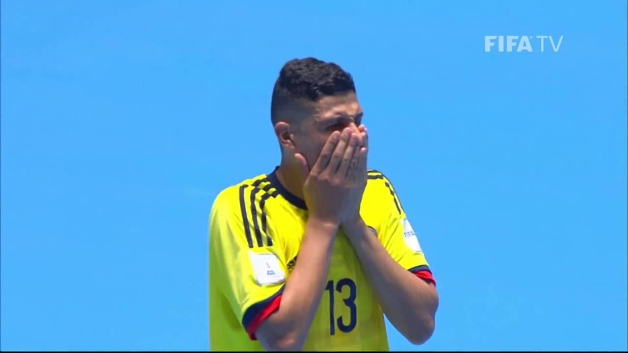Match 38: Colombia v Paraguay – FIFA Futsal World Cup 2016