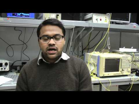 Watch Video: Mohammad Zahirul Alam explains his research in photonics