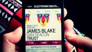 Introducing The Electronic Beats Radio App - Portable Beats!