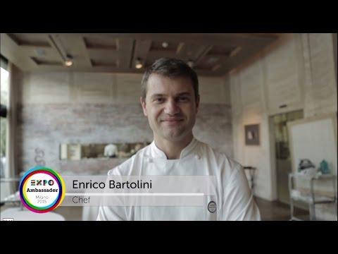 Expo Milano 2015 Chef Ambassador Enrico Bartolini
