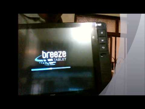 Tablet AOC Breeze Brasil