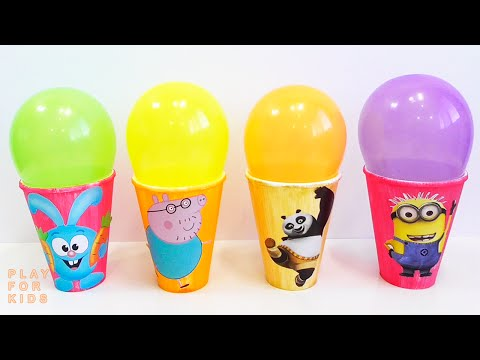 Balloons Show educational game for children learn colors | Шарики Шоу обучающая игра