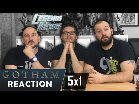"Gotham Episode 5x1 ""Year Zero"" Reaction 