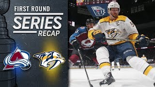 Predators hold off Avalanche to advance in playoffs by NHL