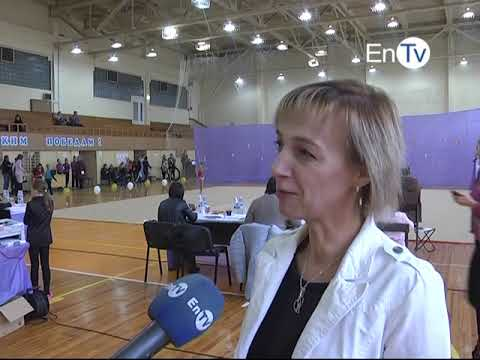 В Энергодаре состоялся турнир по художественной гимнастике «Smile-2018»