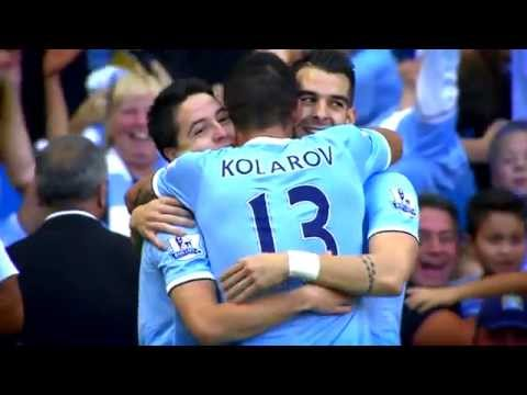 Manchester City 4-1 Manchester United,22- 09 - 2013 in Super Slo-mo Cam.